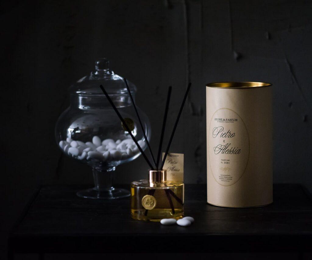 bomboniera personalizzata fragranza